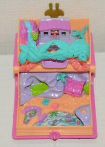 AgréAble Pp Polly Pocket Vintage Livre Tropical Paradise Glitter Island Ile Bluebird 1995