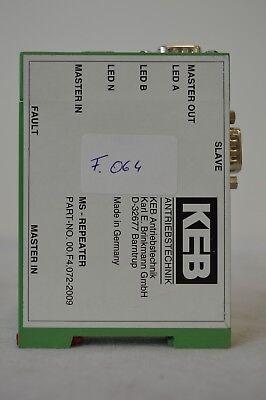Part-No. 00.F4.072.2009 KEB MS-Repeater F.064