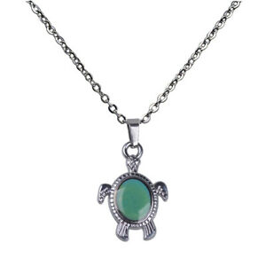 Chic-Animal-Sea-Turtle-Pendant-Color-Change-Emotion-Mood-Chain-Necklace