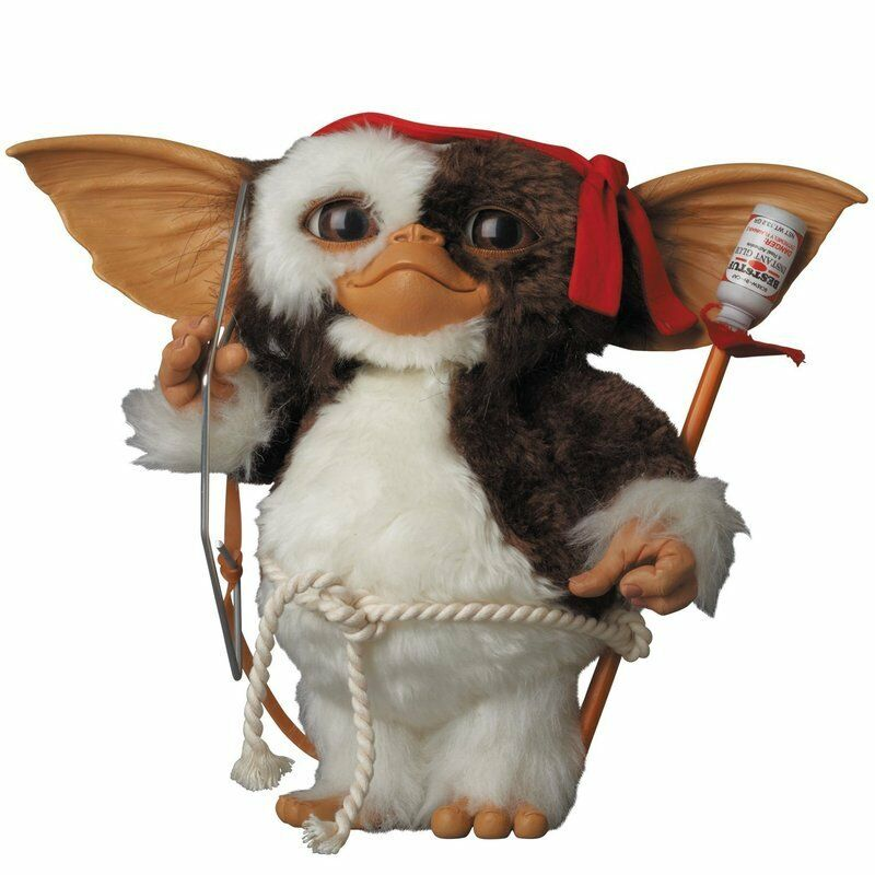 Gremlins Medicom Toy VCD Prop Size Gizmo Combat ver. PVC PVC PVC Completed Figure Doll ab459e