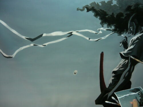 Afro Samurai Oil Painting 40x28in NOT giclee or poster.