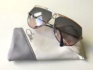vintage-CAZAL-954-black-white-gold-W-Germany-rare-sunglasses-unisex-616-951-901