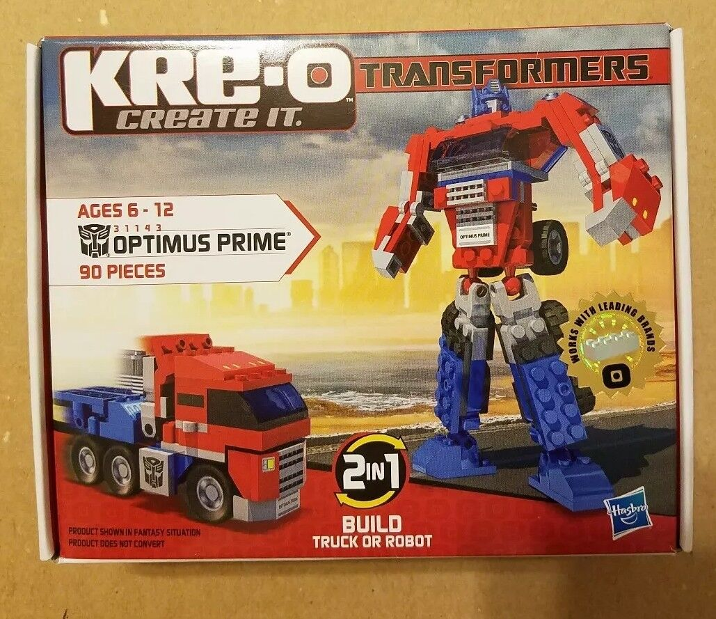 KRE-O Transformers Optimus Prime 31143 90 Piece Building Building Building Set 2in1 dbdb2a