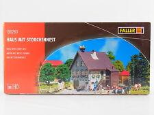 LOT 17466 | Faller HO 130280 Haus mit Storchennest House Bausatz NEU in OVP