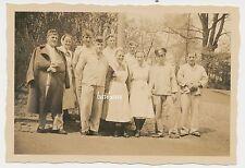 Foto Soldaten -Lazarett-Krankenschwestern  2.WK  (D389)