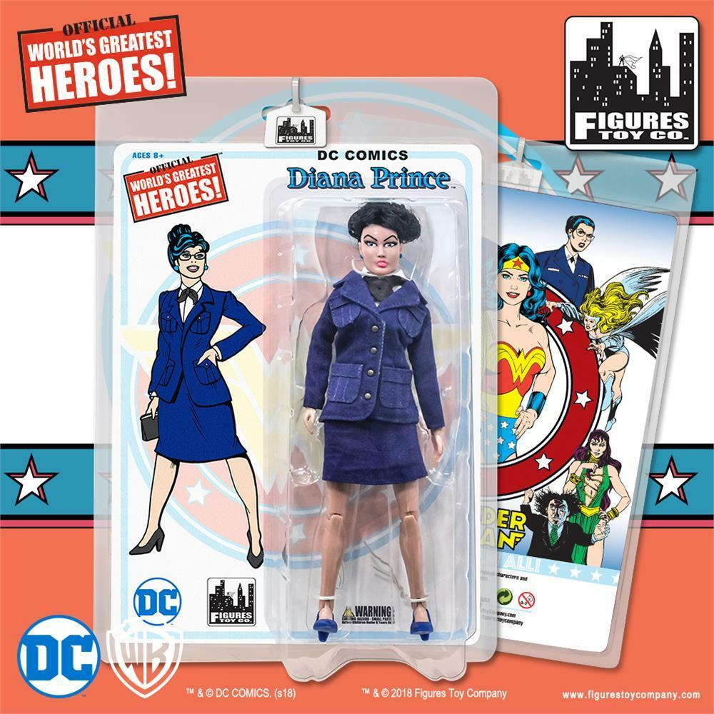 DC Comics Wonder Woman Retro  8 Inch Action Figure Series 2: Diana Prince
