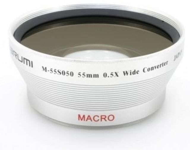 Marumi 55mm Wide Angle Converter Lens 05x Mount Thread London