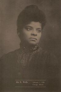 #2442 First Day Ceremony Program 25c Ida B. Wells Stamp
