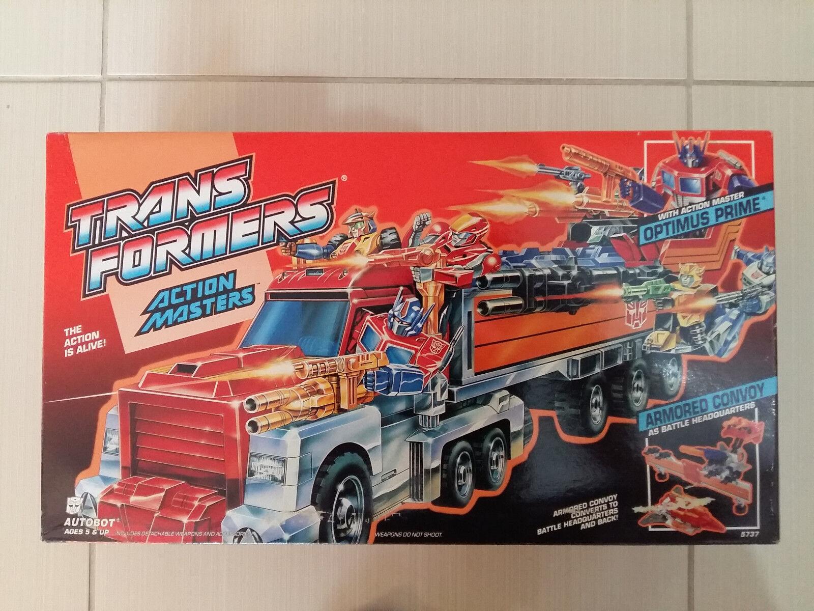 Transformers G1 Action Master Optimus Prime MISSB