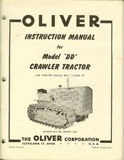 Details about  /Parts Manual Oliver FD Cletrac Crawler SN# 8Y000 /& Up