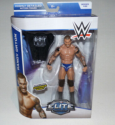 RARE WWE RANDY ORTON MATTEL ELITE COLLECTION SERIES 35 WRESTLING FIGURE