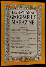 National Geographic Magazine October 1937 TELEPHONE - PYRENEES - SHANGHAI - COKE