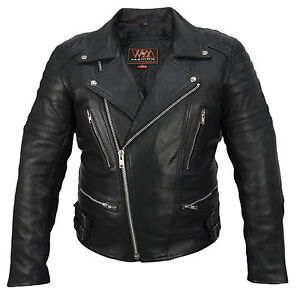 Leather-Retro-Motorrad-Lederjacke-80-s-Herren-oldschool-wm-Fashion-Lederjacke