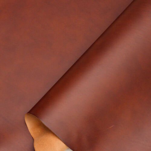 Walpier Buttero Veg Tan Leather 1.2-1.4 mm Chestnut A Size Panels.