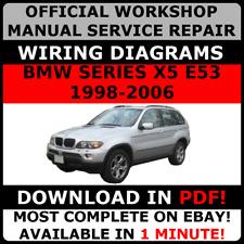 bmw x5 e53 2000 2006 factory service repair manual ebay rh ebay co uk