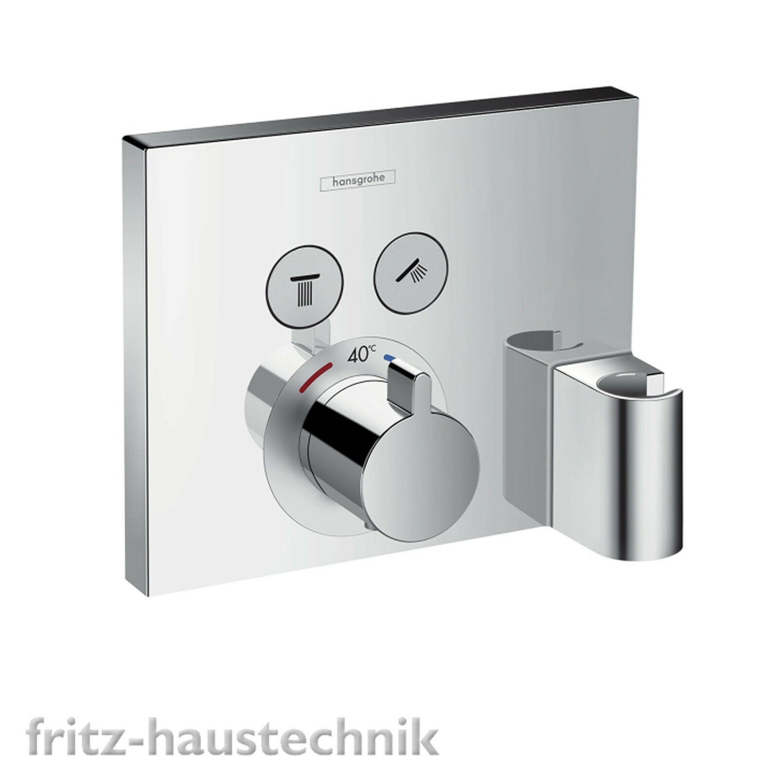 Hansgrohe Shower Select Thermostat Fertigmontageset UP Wannenmischer 15765000