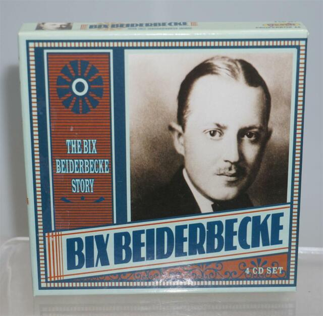The Bix Beiderbecke Story 4 CD Set Properbox 66 mit 56-seitigem Booklet