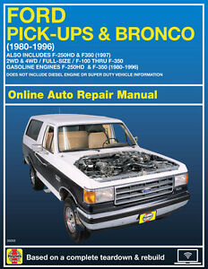 Ford pick-ups, full-size f-150 online service manual, 2004-2014.