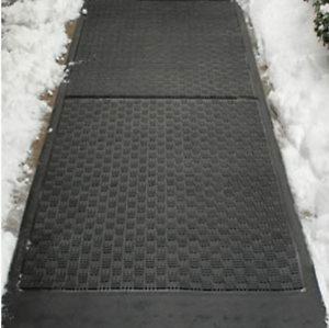 Ice-Away Snow Melting Mat Cold and Water Resistant Heated Floor Mat Waterproof