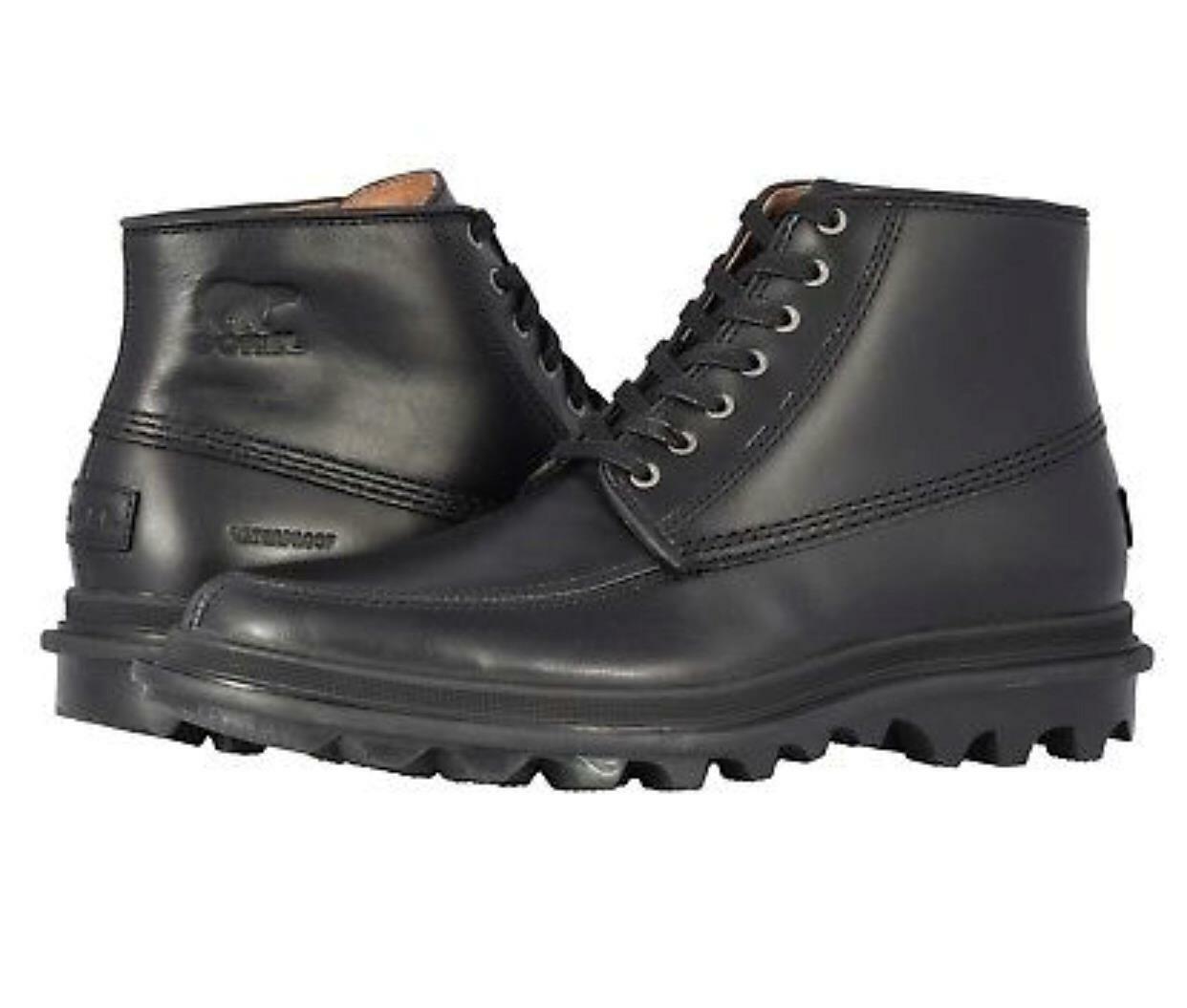 botas Impermeables Columbia Para Hombre Ace Chukka Con Cordones Zapatos Negro