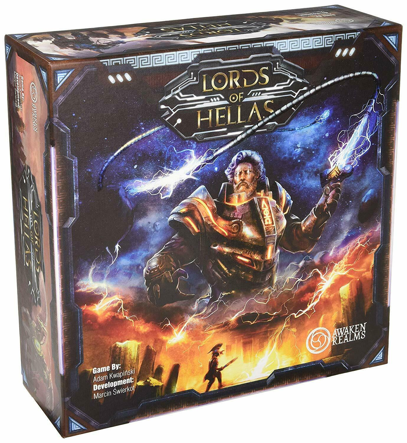 Lords of Hellas Board Game by AWAKEN Realms Brand ny and seled