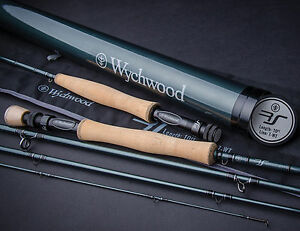 Wychwood-RS-Fly-Fishing-Rod-9ft-10ft-4-Piece-All-Sizes-With-Carbon-Rod-Tube