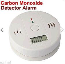 Rilevatore di  Monossido di Carbonio CO2 Allarme a Batterie
