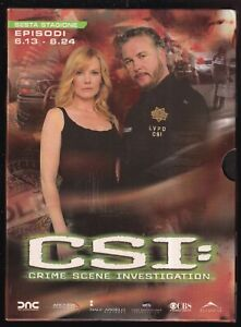 EBOND CSI Crime Scene Investigation Stagione 6. Vol. 2 (3 DVD) D565226