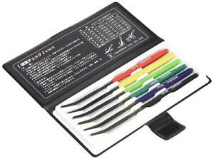 NEW TSUBOSAN MA00600 Hardness Tester Checker File HRC40-HRC65 Set from JAPAN