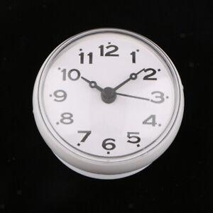Details zu Wasserfeste Weiß Badezimmer Uhr mit Saugnapf - Duschuhr zum  Aufhängen