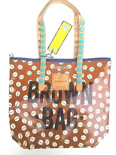 Linea m E16 Telone Bag Brown Tg Gabsille Shopping Gabs Borsa 1wqCRR