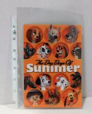 THE DOG DAYS OF SUMMER Disney Movie Club 3D Lenticular Card RARE Collector