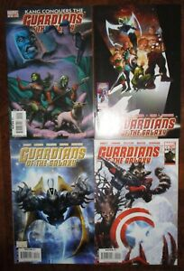 Guardians of the Galaxy MARVEL 2 3 18 19 Lot Abnett Lanning Starlord Groot