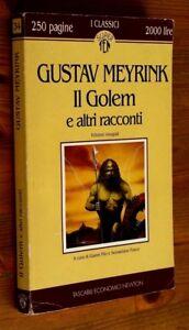 GUSTAV MEYRINK: Il Golem e altri racconti p. e. 1994 TEN - Italia - GUSTAV MEYRINK: Il Golem e altri racconti p. e. 1994 TEN - Italia