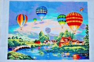 New-Completed-finished-cross-stitch-034-BEAUTY-BALLOON-034-home-decor-gift-sale