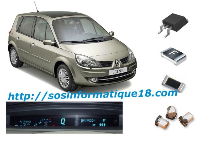 Renault Scenic 2 dash instrument cluster digital display repair kit