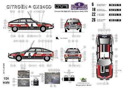 Nouvelle Zélande 1986 FFSMC Productions Decals 1//32 Peugeot 205 Turbo 16