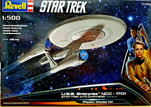 Mode 2019 Star Trek U.s.s. Enterprise Ncc-1701 Into Darkness Revell Kit 1:500 58cm - 04882 DernièRe Technologie