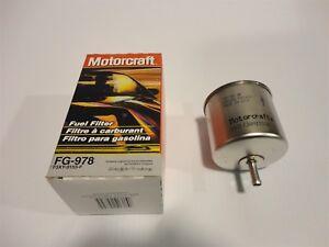 NEW Motorcraft FG-978 (F3XY-9155-F) Fuel Filter Made In USA | eBay