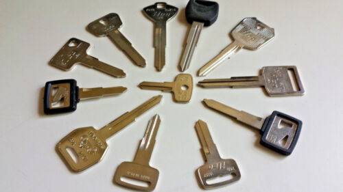 Honda-Motorcycle-ATV-New-Replacement-Keys-Cut-by-Code-Number-Guaranteed to work