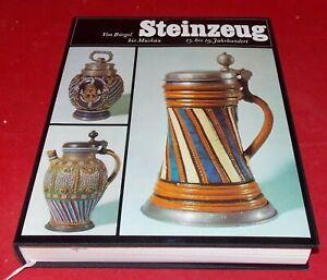 Steinzeug - Von Bürgel bis Muskau 15. bis 19. Jahrhundert im Schuber