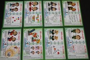 BPZ-Komplettsatz-Beipackzettel-Funny-Students-1-Serie-PORTUGAL