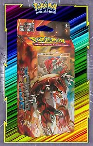 Deck-XY05-Primo-Choc-Pulsation-Terrestre-Groudon-Pokemon-Neuf