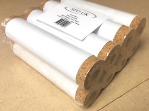 Bargain 8 Rolls 2mm Thick x 1000mm Long x 250mm Wide High Quality Cork Sheet Po