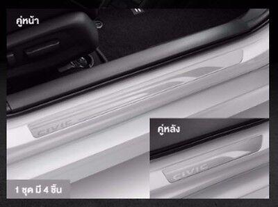 Genuine 2010-2015 Civic FB 9th Door Sills Trim Side Step Garnish Scuff Plate