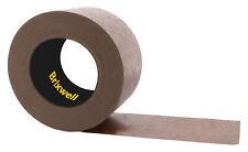 Brixwell Fbt30060brn Flatback Brown Paper Packing Tape 3 Inch X 60 Yard