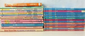 28-Sweet-Valley-High-Books-Kids-Twins-Friends-Girl-Talk-Teen-Vtg-80s-90s-Lot-PB