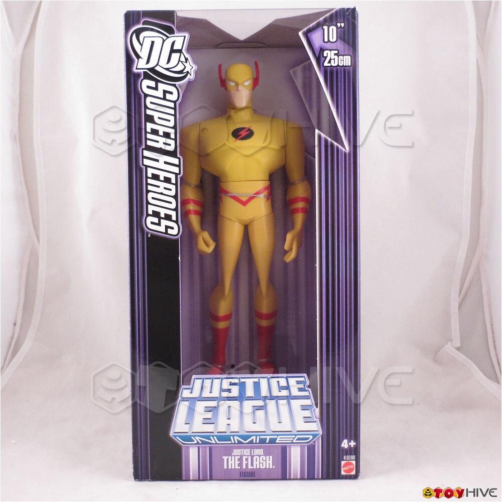 Justice League Unlimited Lord Flash 10 10 10 inch vinyl figure DC JLU purple box bae487