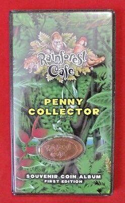 Rainforest Cafe Elongated Pressed Penny Souvenir Album Book ..
