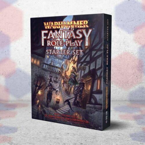 Warhammer Starter Set Gioco di Ruolo Fantasy Avventura Italiano GDR Asmodee